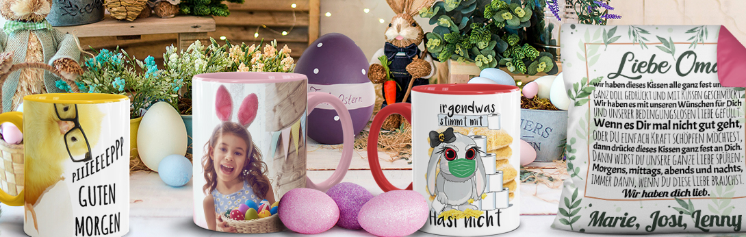 Osterbanner Kategorie Ostergeschenke
