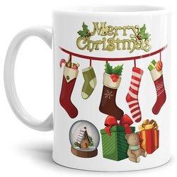 Tasse Merry Christmas Socken
