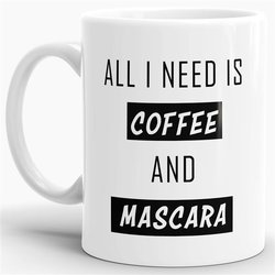 Tasse Coffee and Mascara