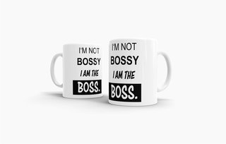 Tasse I am the Boss