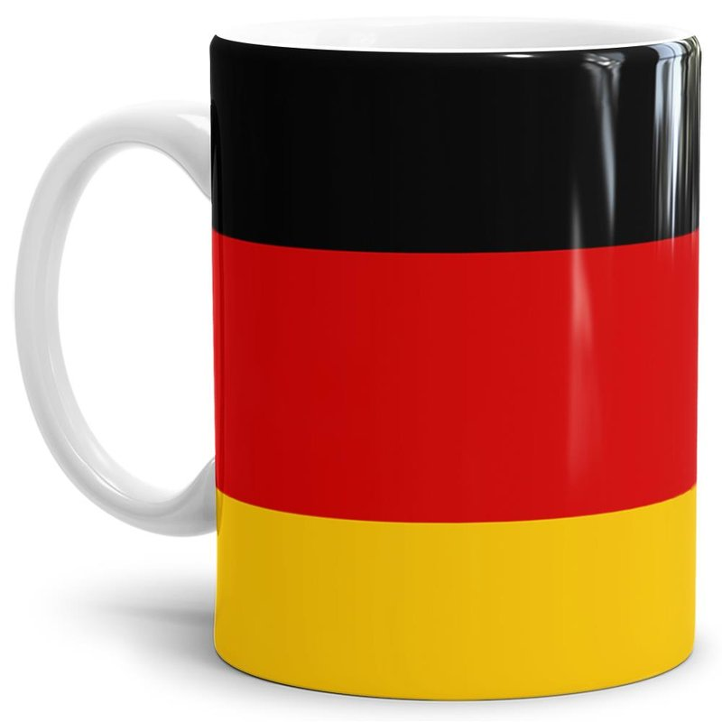 Tasse Deutschland Flagge 795