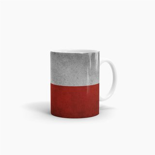 Tasse Chile Flagge Retro