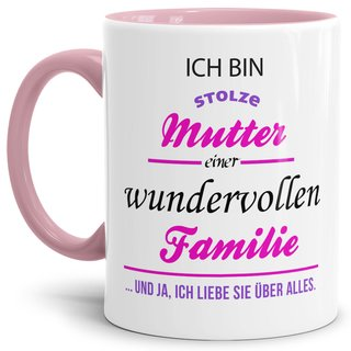 Tasse Stolze Mutter