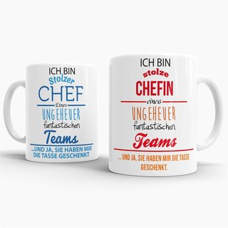 Tassenset Chef & Chefin