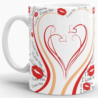 Tasse Herz I Love You