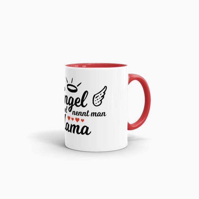 Konische Keramiktasse Engel ohne Flügel nennt man ... Familie