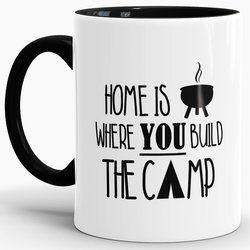 Tasse Home is where you build the Camp Schwarz