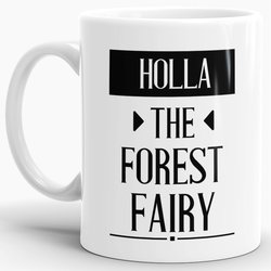 Tasse Holla the forrest-fairy  Weiss