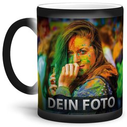 Fototasse Magic Wondermug Zaubertasse MATT