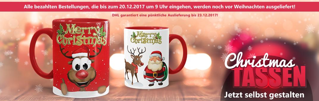 Christmas Tassen