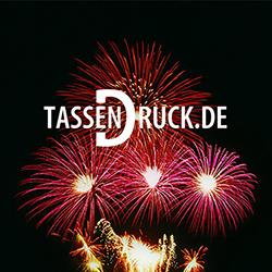Feuerwerk Tassendruck